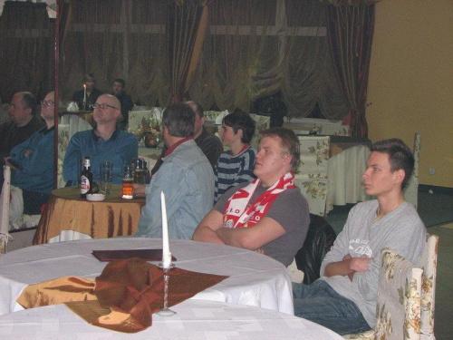 Kibicowanie w Chotomowie- Mistrzostwa Świata w Piłce Ręcznej - Finał Polska:Niemcy