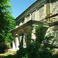 Zrujnowany pałac w Olesinie #Olesin #zabytek #zabytki