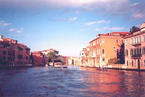 Stara fotka, skan z odbitki, mam do niej duży sentyment :) #Wenecja